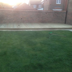 decking in lingfield