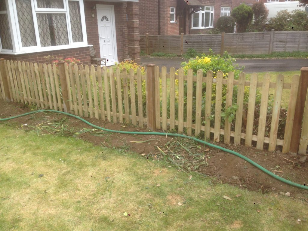 fence replacment