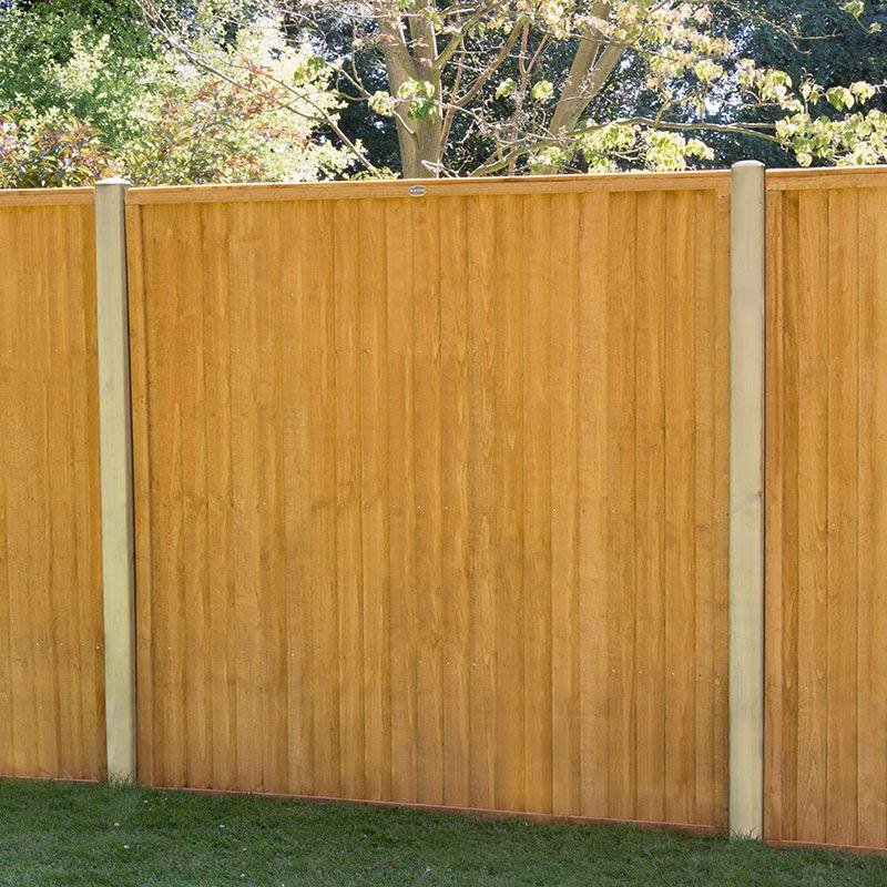 Close-board / Featherboard Fencing